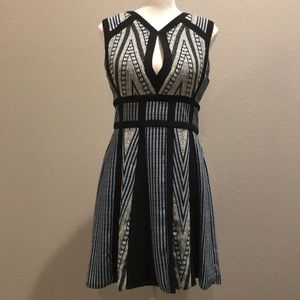 Fitted dress by BCBG